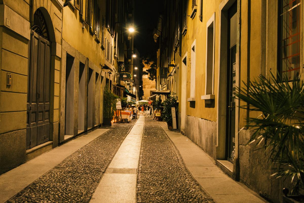 Brera Viertel: Wochenende in Mailand