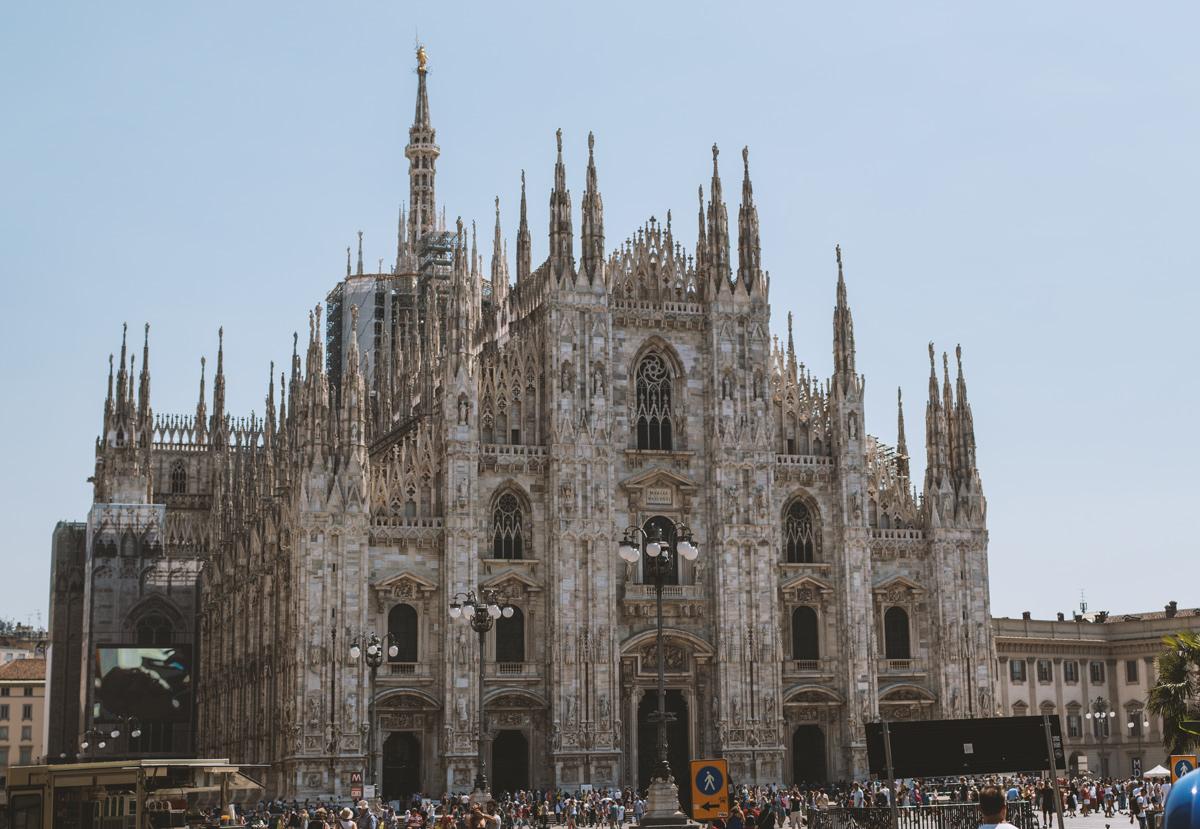 Mailänder Dom: Wochenende in Mailand
