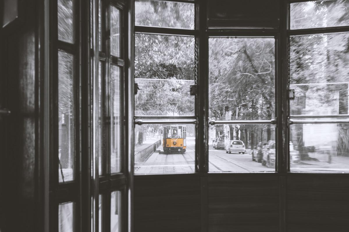 Bild der Tram: Wochenende in Mailand