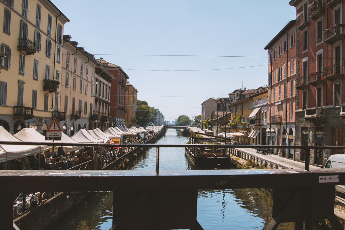 Navigli Viertel: Wochenende in Mailand