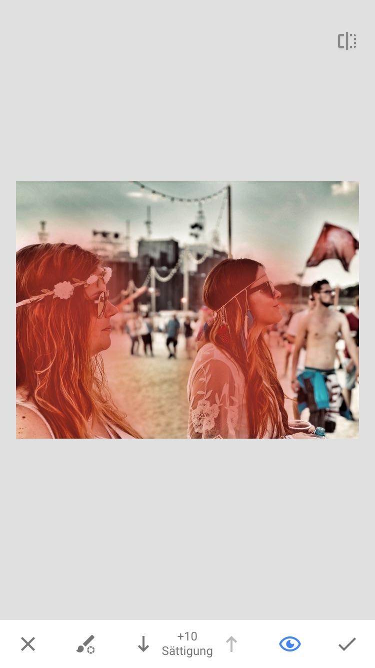 Snapseed - Bildbearbeitung mit Instagram