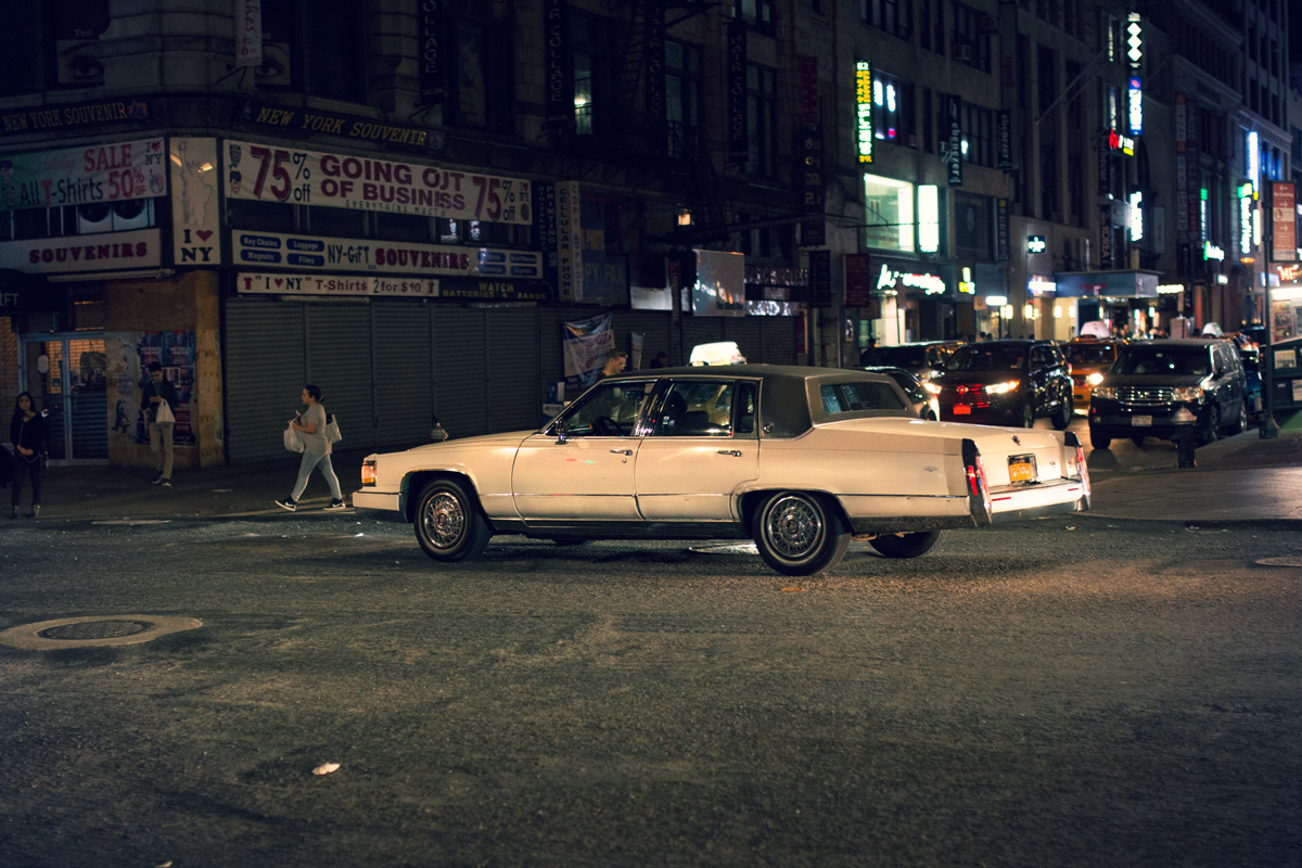 Cadillac in New York