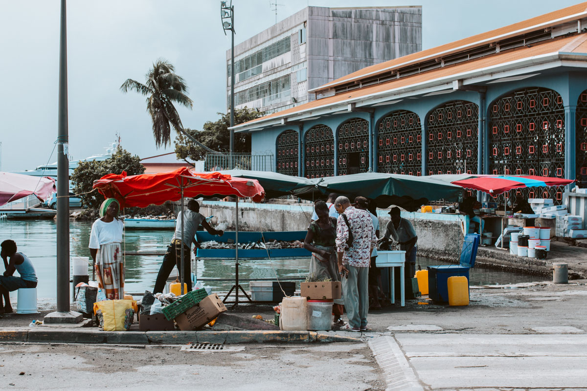 st kitts market