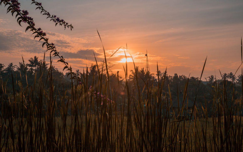 Sonnenuntergang-bali